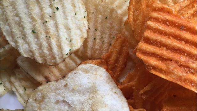 New York Chips started two years ago with just one flavor, sea salt cooked in avocado oil. Now the Wyoming County business offers its chips in 25 different flavors and sizes. (June 20, 2018)