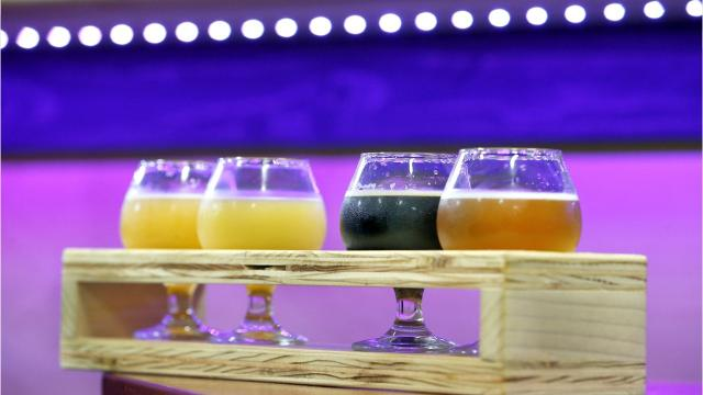The Mortalis Brewing team was brought together over a shared love of hazy IPAs, big imperial stouts, and off-the-wall adjuncts. Instead of driving hours for those types of beers, they want people to drive to Avon. (Aug. 8, 2018)