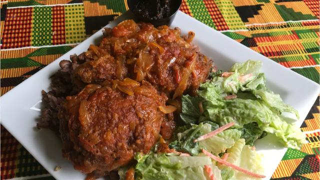 Akwaaba Restaurant serves authentic African cuisine from Ghana and other countries. Here's a look at some of the dishes.