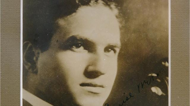 Rochester violinist David Hochstein died in the last days of WWI, but a music school that bears his name means that his legacy continues a century later.