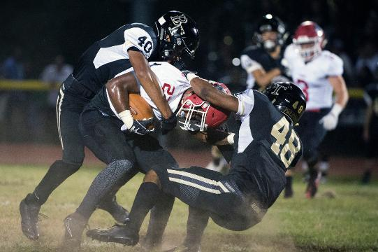 WATCH: Lenape shuts out Burlington Township 47-0