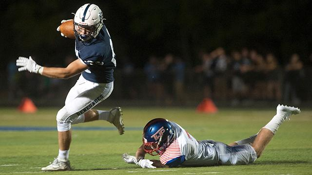 WATCH:  Shawnee defeats Washington Twp. 19-6