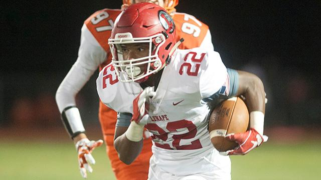 WATCH:  Lenape takes down Cherokee