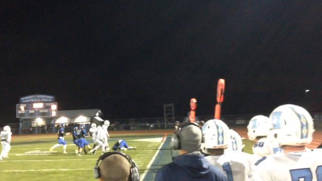 Hammonton football defeats Highland in overtime