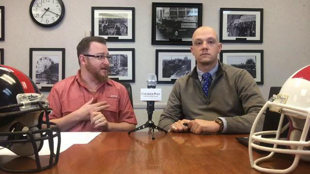Mark Trible and Josh Friedman look ahead to the championship football games that will be played at Rowan University this weekend.