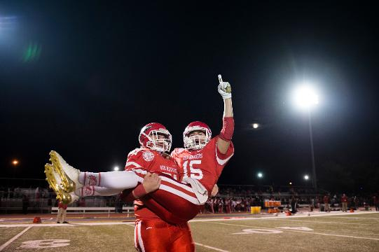 Paulsboro defeated Penns Grove 34-24, earning a South Jersey Group 1 title Saturday, Dec. 2, 2017 at Rowan University in Glassboro, New Jersey.