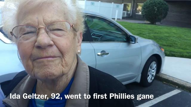 WATCH: SJ bus driver treats 92-year-old woman to Phillies game