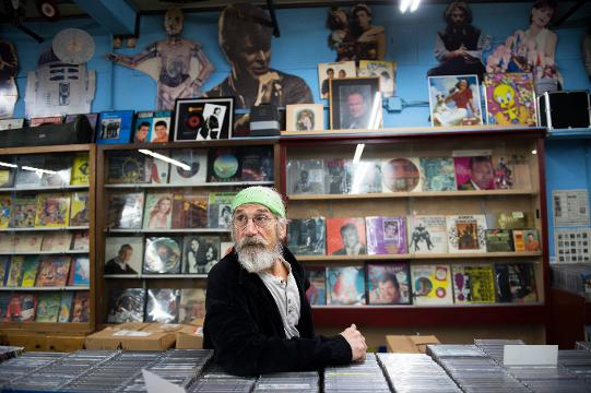 The Record Store owner Joe DiPietro discusses his history at the shop and his time in Vietnam.