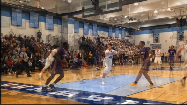 Shawnee boys basketball beat Camden for the first time since 2013 with a 51-48 overtime victory on Tuesday night.