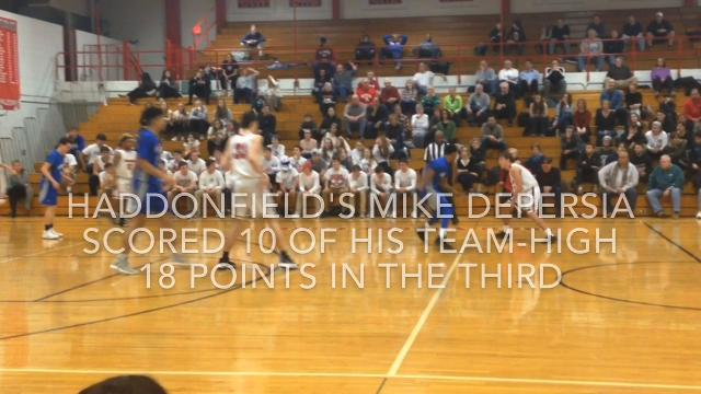 Haddonfield boys basketball defeated Sterling 63-57 on Tuesday