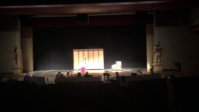Lenape High School's spring musical is Elton John and Tim Rice's ''Aida'', a challenging show to do.