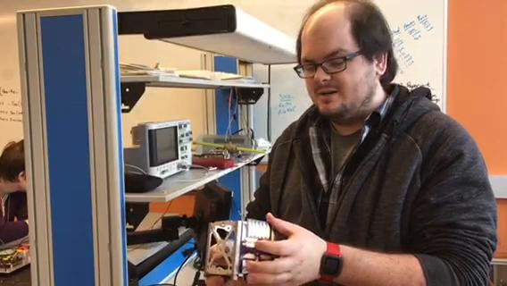 Rowan University Engineers spent two years developing and building a satellite NASA will launch to the International Space Station. Engineering student Russell Trafford - a PhD student and project manager - explains how they put it together.