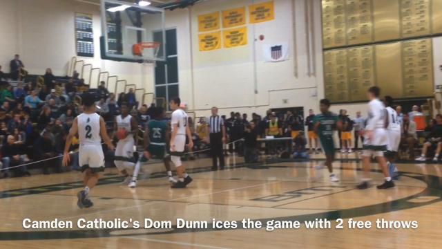 Camden Catholic boys basketball beat St. Joseph (Metuchen) 44-39 in the Non-Public A South final on Thursday night.