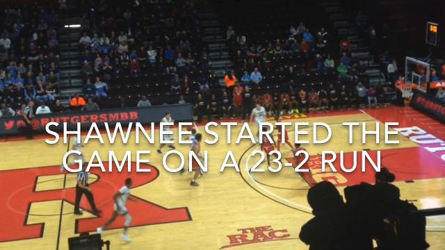 Shawnee boys basketball won its first state championship in 11 years Sunday, beating Newark East Side 56-53 in the Group 4 final at Rutgers University.