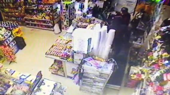 Police are asking for help in tracking down the suspect in the March 19 holdup at Super Speedy Mart on Route 130.