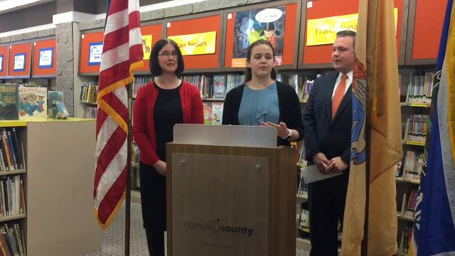 A graduate student raised money for the Camden County Library System to purchase 50 pairs of noise-canceling headphones for young patrons with auditory sensitivities.
