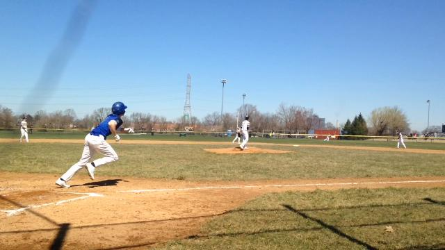 Kevin Teschko threw a no-hitter as Gateway baseball beat Gloucester on Opening Day