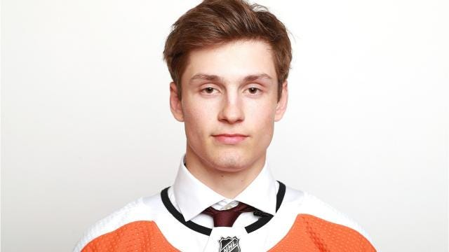 WATCH: Meet Flyers first-round picks Joel Farabee & Jay O'Brien
