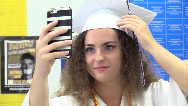 Putnam Valley High School Graduation, June 23, 2017. Video by Brian Vangor