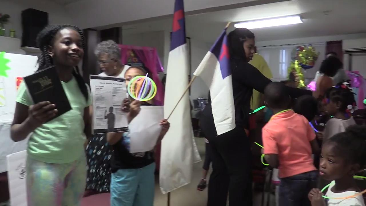 Video: Vacation bible camp at First Baptist Church in ...