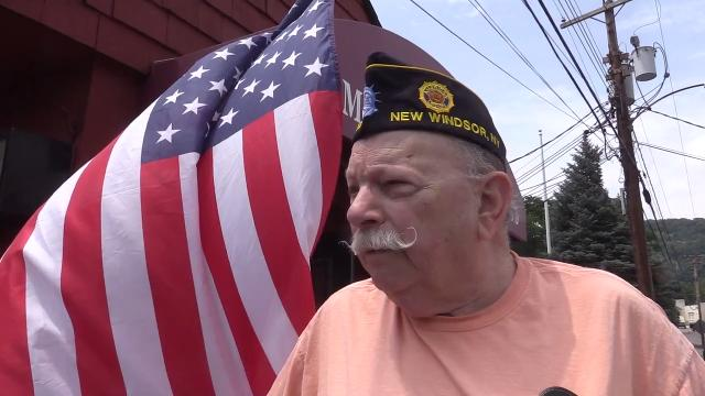 Video: American Legion post near Stewart Air Base to support families of crash victims