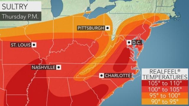 Video: Ozone alert, heat, storms today