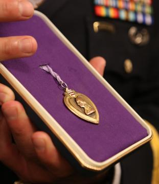 Video: Rockland's missing Purple Heart mystery has storybook ending