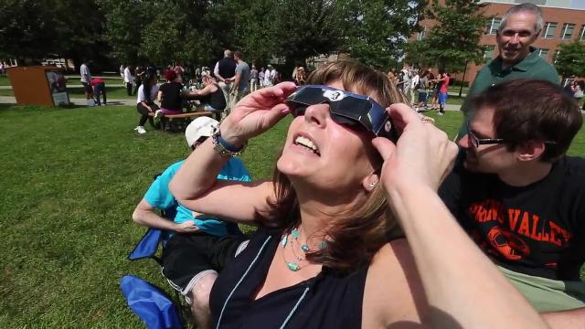 Video: Eclipse watching at RCC