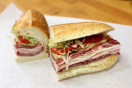 Video: Italian Special Combo deli sandwich at the Italian Food Center