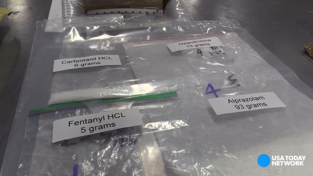 Video: An inside look at the hunt for fentanyl