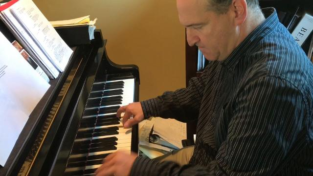 """Nyack composer will present a song inspired by the Tappan Zee Bridge at lohud's """"Bridging Art"""" event on Sept. 26 at Union Arts Center in Sparkill. Video by Peter D. Kramer/lohud"""