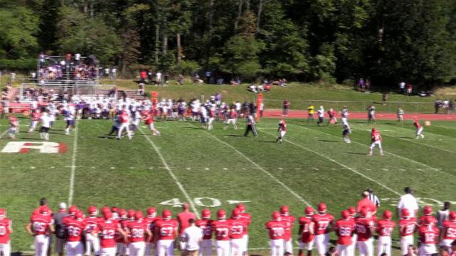 Video: New Rochelle shuts out North Rockland 48-0