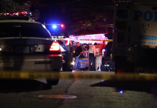 Video: Yonkers cop shot in the face