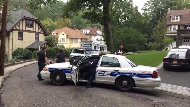 Video: Yonkers police investigate officer's shooting