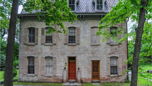 An 1850 home in Stony Point, featured in Vogue magazine and owned by the same family for 3 generations, is on the market