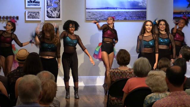 Bridging Art, a lohud event at Union Arts Center in Sparkill. Artists presented creations inspired by the Tappan Zee Bridge, and its replacement, the Gov. Mario Cuomo Bridge.