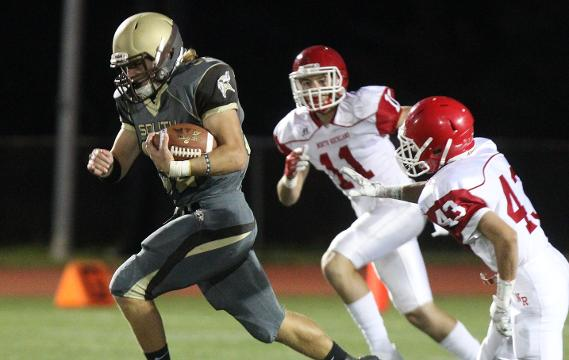 Video: Clarkstown South football beats North Rockland