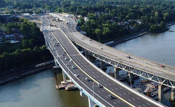 Video: Mario Cuomo Bridge traffic