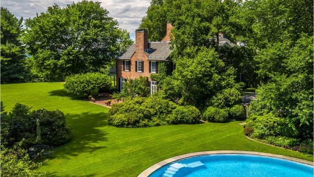 The estate of the late David Rockefeller in Pocantico Hills is on the market for $22 million.