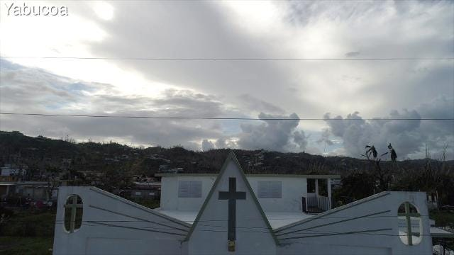 Drone footage of damage done to the towns of Naranjito, Yabucoa, Patillas and Toa Baja in Puerto Rico by Hurricane Maria in September of 2017.  Carrie Cochran and Ricky Flores/USA Today Network