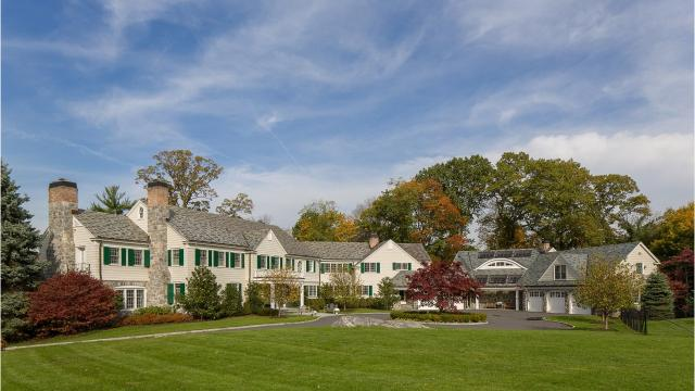 A classic 1928 Rye estate on the grounds of the Apawamis Club will go up for auction Nov. 15