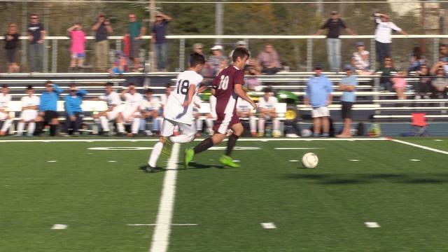 Video: Highlights from the Scarsdale v. John Jay-EF boys soccer game