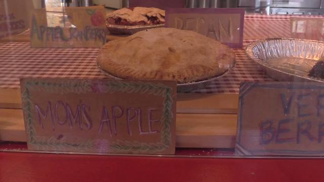 Siblings Wil and Bri Tyler, owners of Pie Lady and Son in Upper Nyack, talk about why pie is perfect for Thanksgiving.