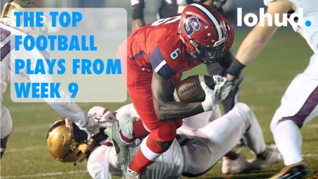 Video: The Top 10 football plays from Week 9