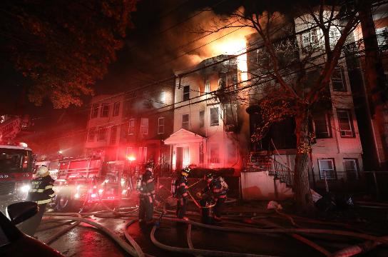 Video: Yonkers 4-alarm fire