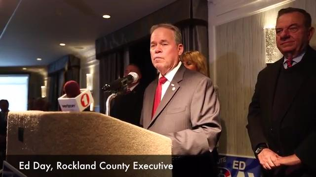 Video: Ed Day wins Rockland Executive race