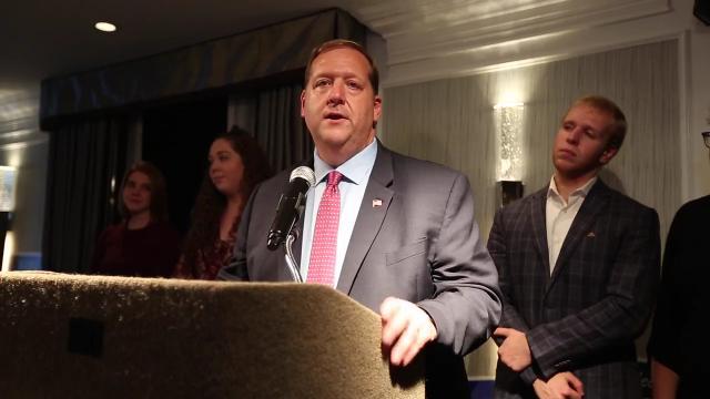 Video: George Hoehmann wins re-election in Clarkstown
