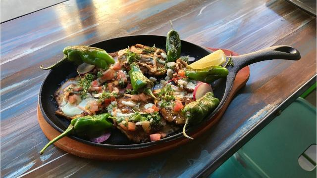 Celebrated chef Constantine Kalandranis debuts his first Med-Mex taco joint, Popojito, just in time for Taco Tuesday.