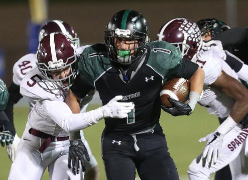 Video: Yorktown tops Burnt Hills 34-19 in state semifinal