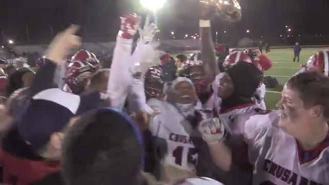 Video: Stepinac wins Catholic League football championship